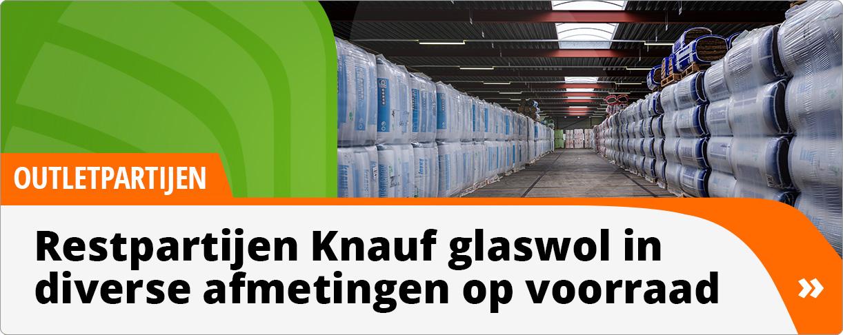 Knauf Glaswol Outlet 12-2020