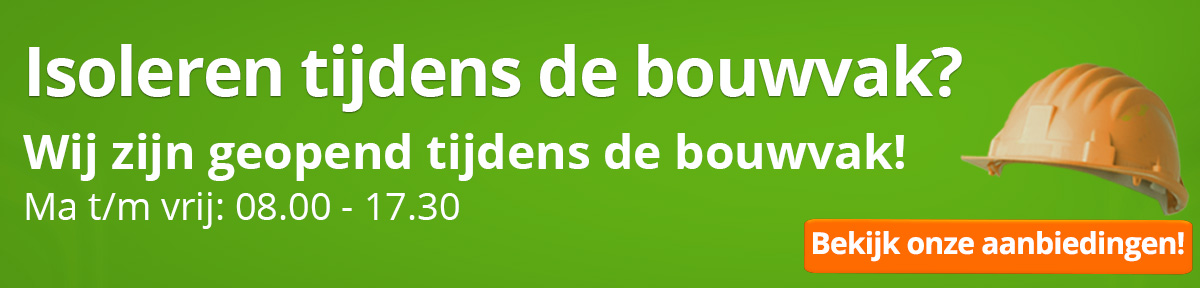 Bouwvak 2020 banner