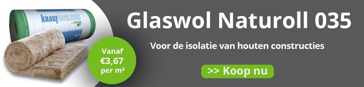 Glaswol Naturoll 035