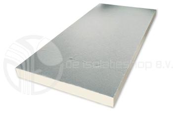 Isoleer uw platte dak van buitenaf de isolatieshop