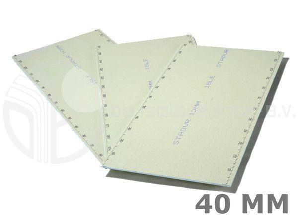 Basetec WEDI XPS platen - De Isolatieshop