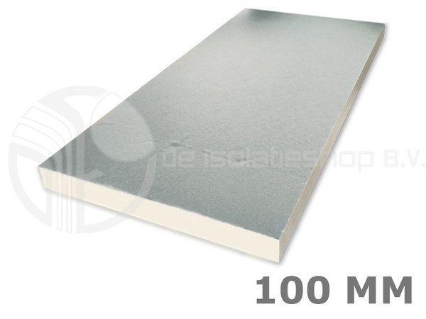 Zeer PIR 2-zijdig Aluminium 1200x600x100mm Rd:4.54 5pl/pak (=3,60 m² NB51