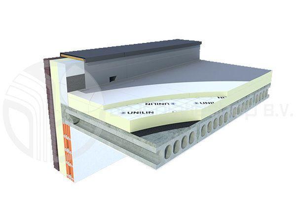 Onwijs PIR afschot 2-zijdig aluminium 1200x1200x30/40mm - De Isolatieshop YA-19
